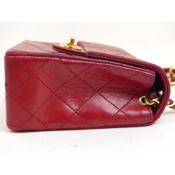 Picture of Chanel timeless 2.55 red square mini crossbody bag