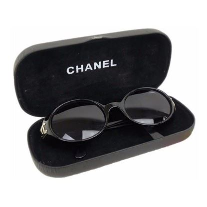 Image of Chanel black sunglasses