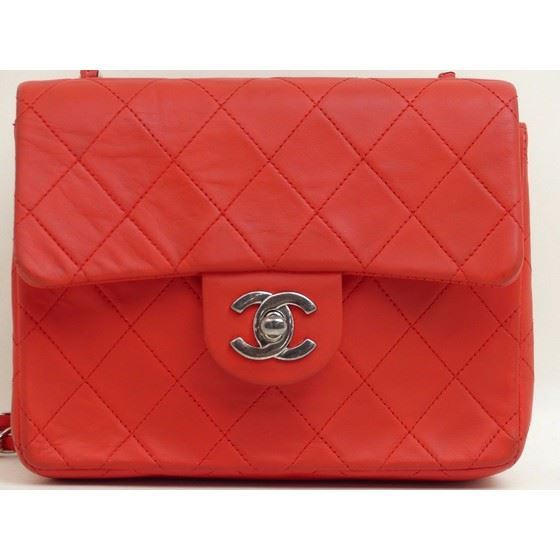 00679441acab Picture of Chanel red timeless 2.55 square mini bag with silver hardware