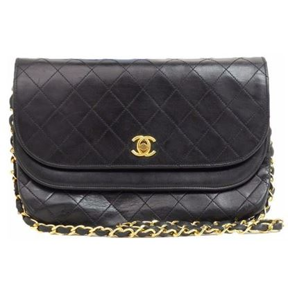 Image of Chanel timeless classic double flap bag