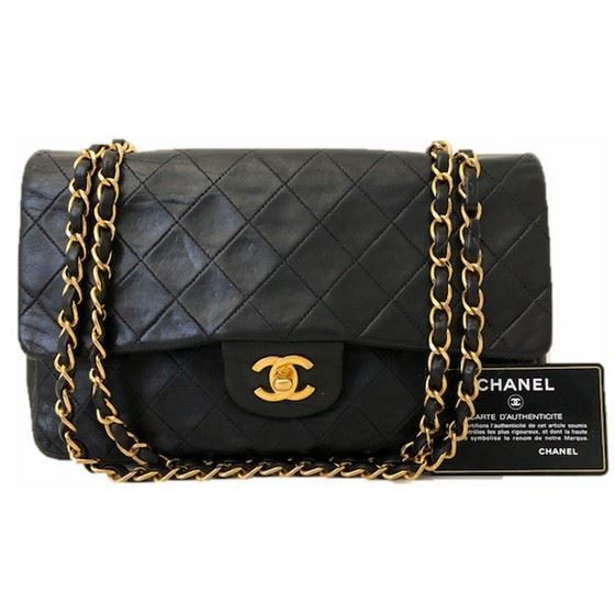 eac4c3eb19d6 Vintage and Musthaves. Chanel timeless 2.55 medium double flap bag