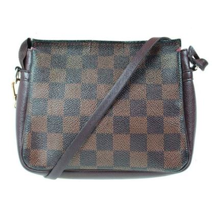 Image of Louis Vuitton pochette damier ebene pouch handbag