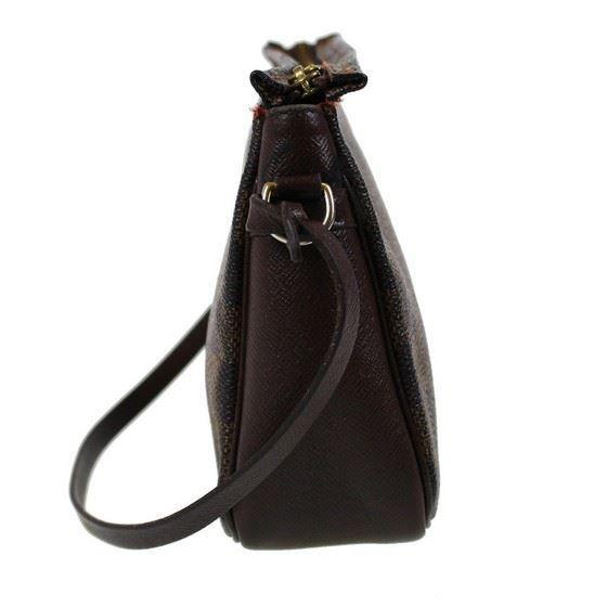 Picture of Louis Vuitton pochette damier ebene pouch handbag