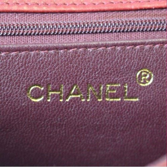 Picture of CHANEL Red quilted crossbody bag