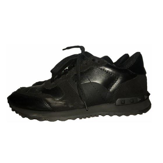 Picture of Valentino rockrunner camou noir sneakers