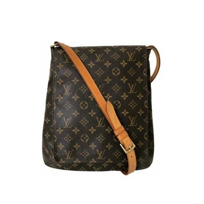 Image of LOUIS VUITTON, SALSA musette monogram messenger bag