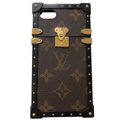 Image of LOUIS VUITTON monogram Eye-Trunk for Iphone 7, M64479