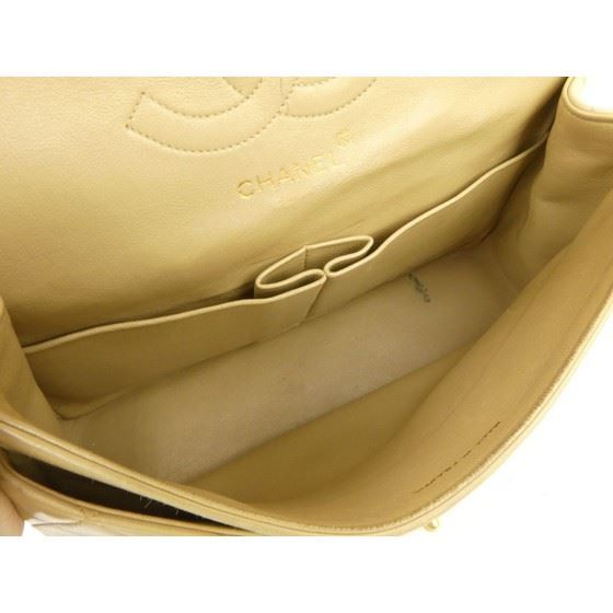Picture of Chanel beige 2.55 medium double flap bag