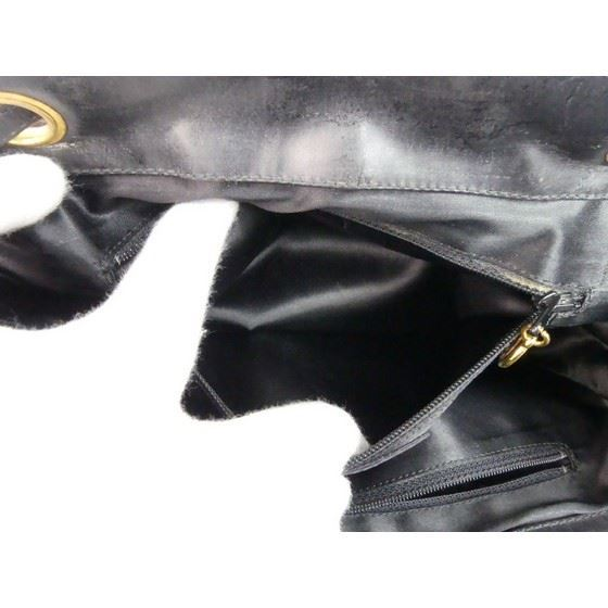Picture of Chanel  Black CC  Drawstring Backpack Bag