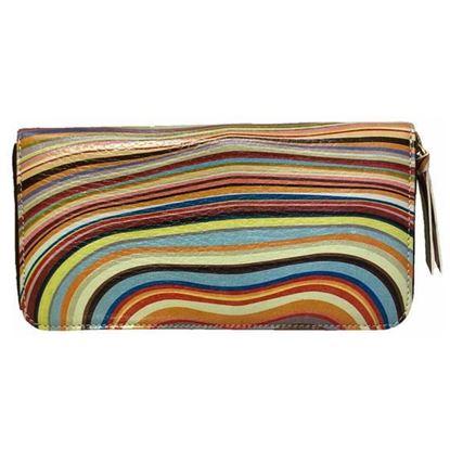 Image of paul smith multicolor wallet