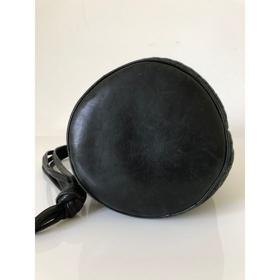 Picture of Bally black small bucket bag