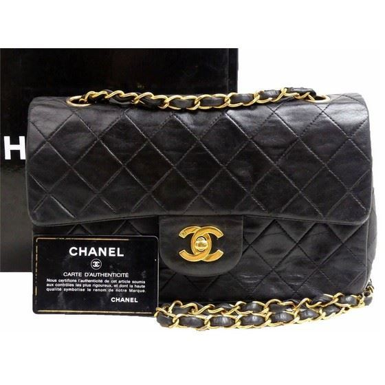 Picture of Chanel small 2.55 timeless double flap bag