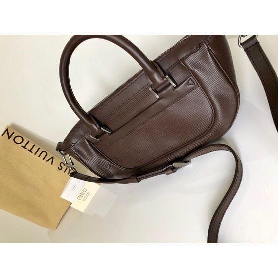 Picture of Louis vuitton brown Epi Leather Dhanura Cross Body Bag