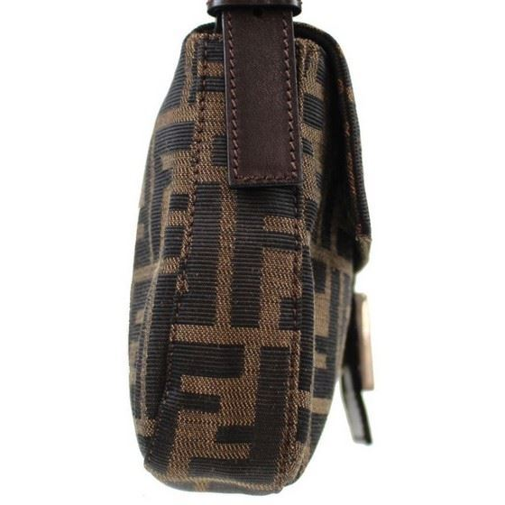 Picture of Fendi Zucca Pattern  Mamma Baguette shoulder bag