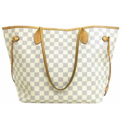 Image of Louis Vuitton neverfull Damier Azur MM bag