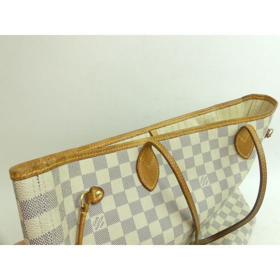Picture of Louis Vuitton neverfull Damier Azur MM bag