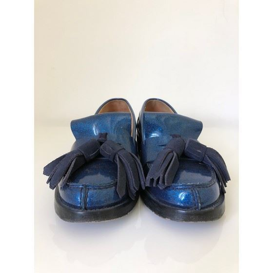Picture of ACNE STUDIOS Azalea glitter loafers