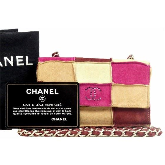 Picture of Special piece: Chanel patchwork crossbody bag