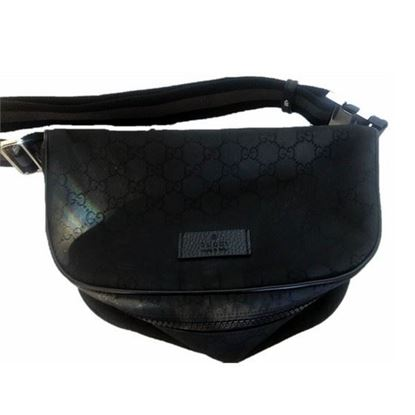 Image of Gucci Monogram Gg Waist Pouch/Fanny Pack /beltbag