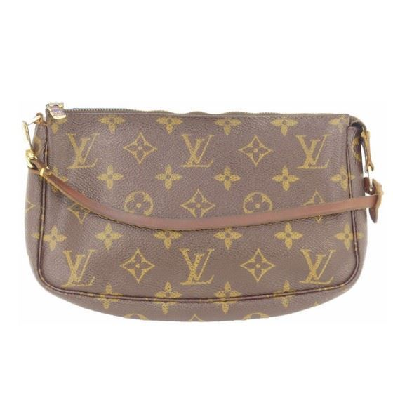 Picture of Louis Vuitton pochette monogram pouch handbag