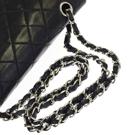 Picture of Chanel medium timeless 2.55  double flap bag with silver hardware