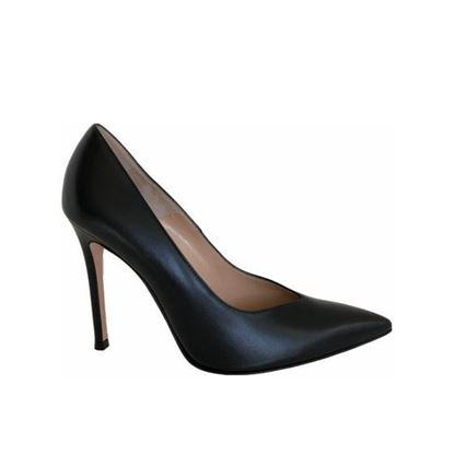 Image of Gianvito Rossi black leather heels