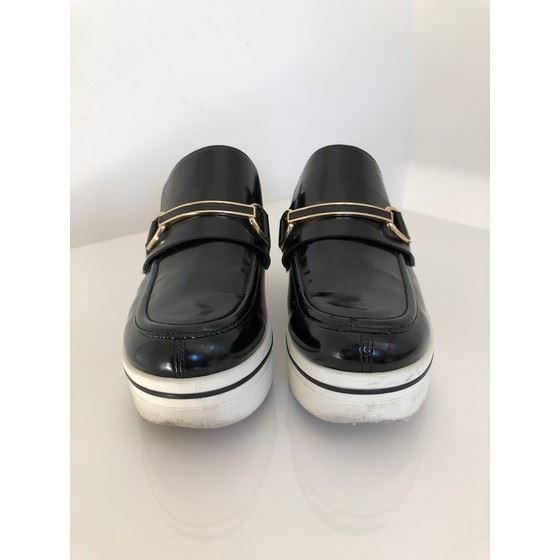48b3a84d2ede Vintage and Musthaves. Stella McCartney black Binx loafers