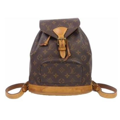 Image of LOUIS VUITTON Monogram Montsouris MM Backpack