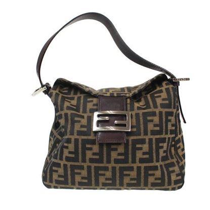 Image of Fendi Zucca Pattern handbag