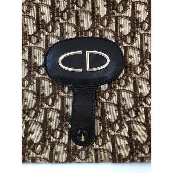 Picture of Rare Christian Dior logo 2-way tote clutch bag