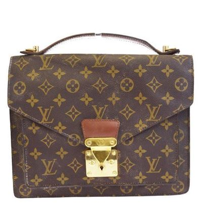 Image of Louis Vuitton monogram Monceau bag