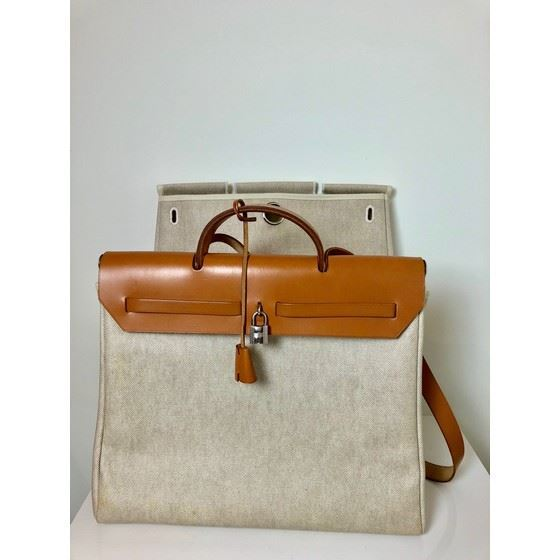 Picture of HERMES Toile Herbag 39 MM, 2 In 1 Bag