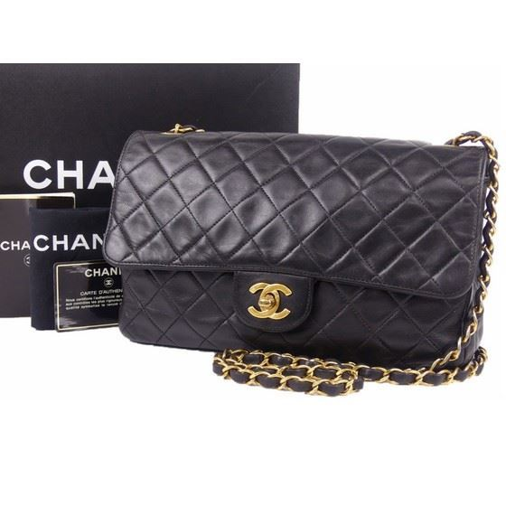 6b3d8683e43d Vintage and Musthaves. Chanel medium 2.55 timeless crossbody flap bag