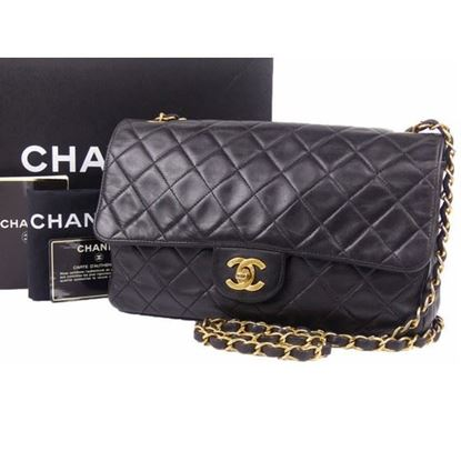 Image of Chanel medium 2.55 timeless crossbody flap bag