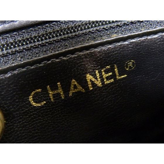 Picture of CHANEL black Lamb Skin belt bag, fanny pack