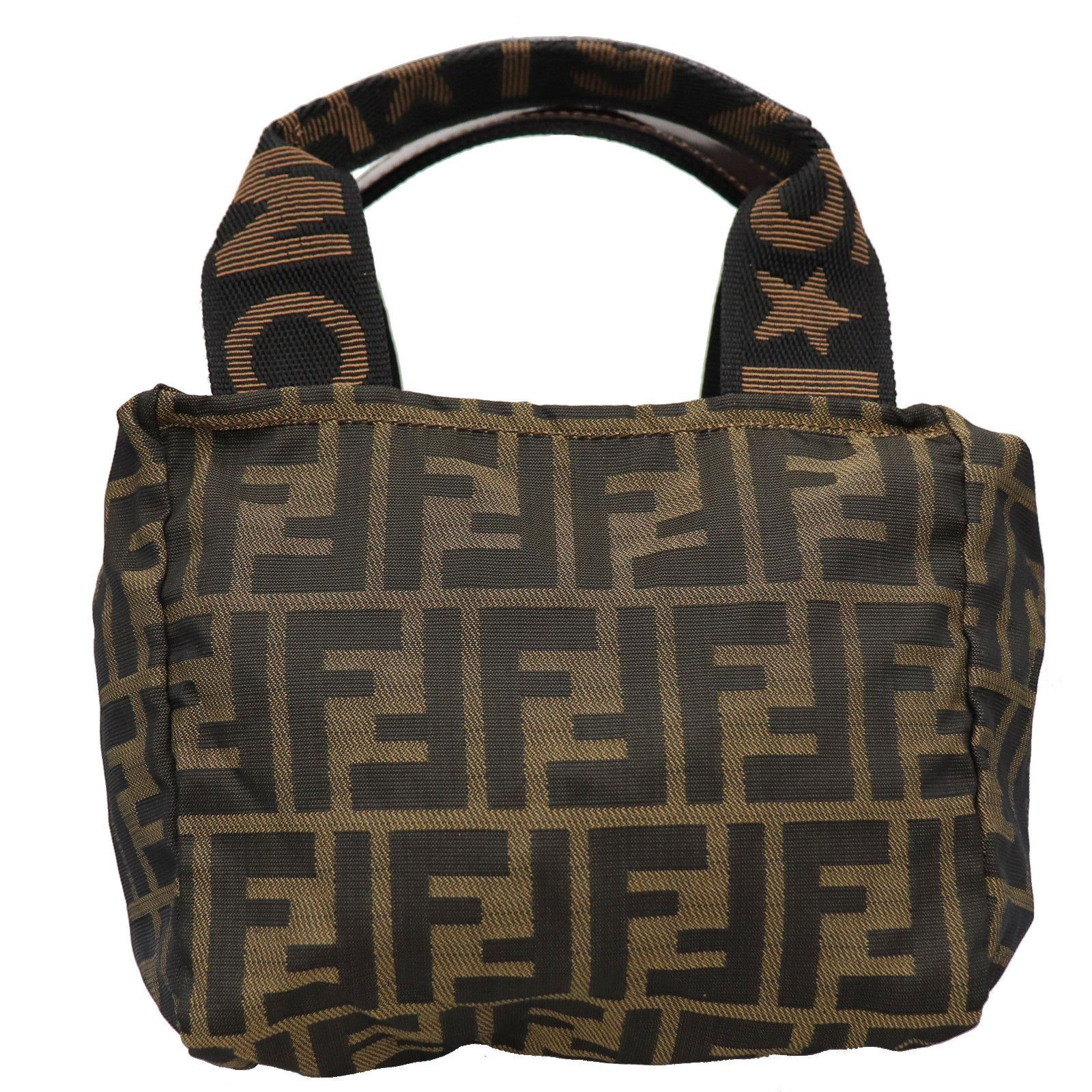 b73a707ab034 Vintage and Musthaves. Fendi Zucca Pattern handbag