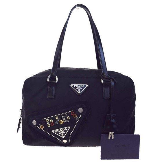 Picture of Prada padlock handbag