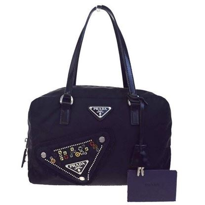 Image of Prada padlock handbag