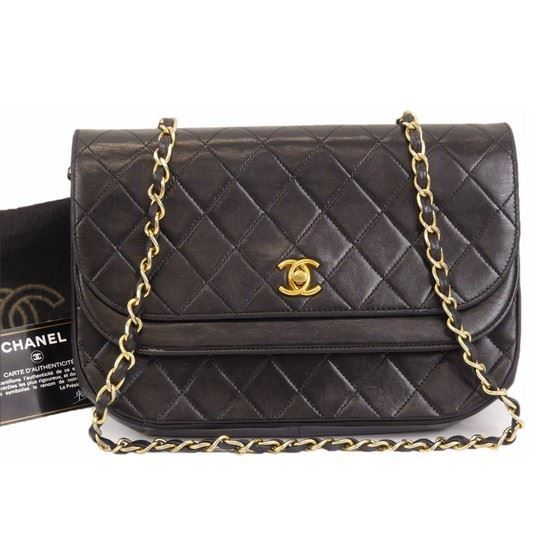 f4017d150006 Vintage and Musthaves. Chanel classic timeless double flap bag