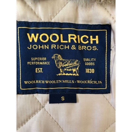 Picture of Woolrich fur parka