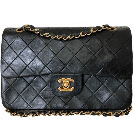 7b707f1afc8e Vintage and Musthaves. Chanel small 2.55 timeless double flap bag