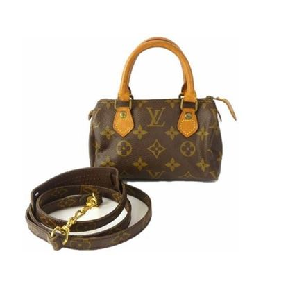 Image of LOUIS VUITTON Speedy mini sac HL bag FROM Monogram Canvas