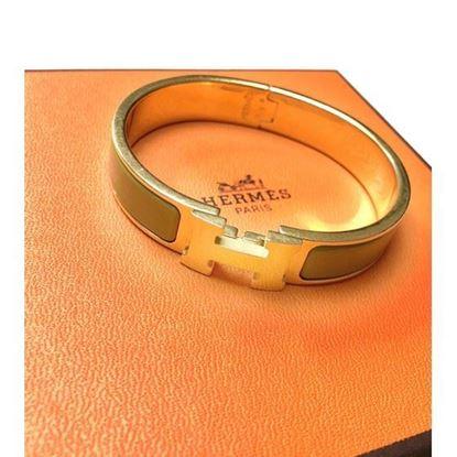 Image of HERMES clic H bracelet