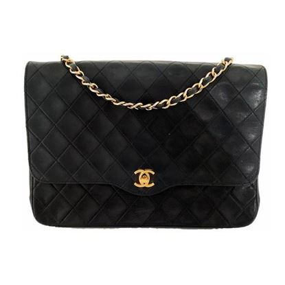 Image of Chanel classic timeless flap bag
