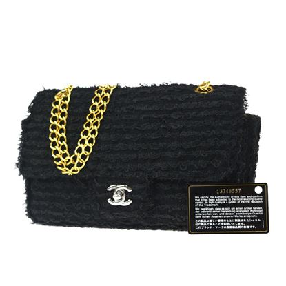Image of SPECIAL PIECE: Chanel timeless 2.55 classic wool tweed bag