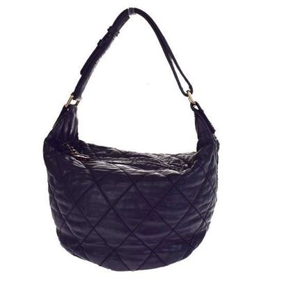 Image of Chanel  Black CC charm quilted bag