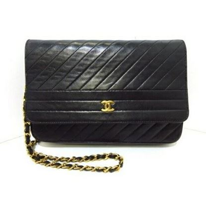 Image of Chanel chevron medium classic flap bag