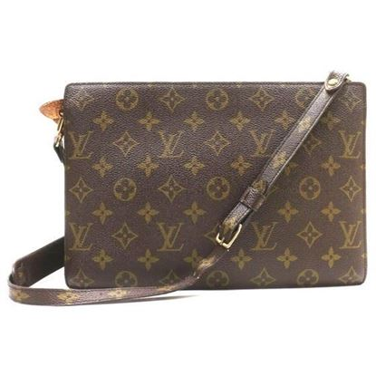 Image of LOUIS VUITTON monogram crossbody bag