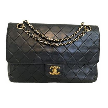 Image of Chanel 2.55 medium-large classic timeless double flap bag