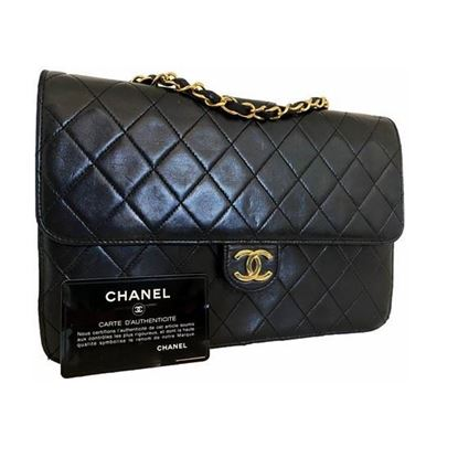 Image of Chanel classic 2.55 medium flap bag